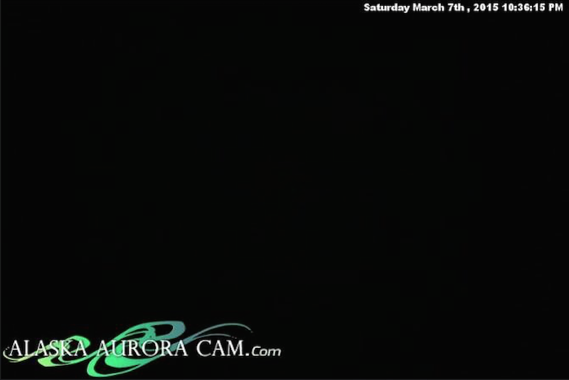 March 7th - Alaska Aurora Cam