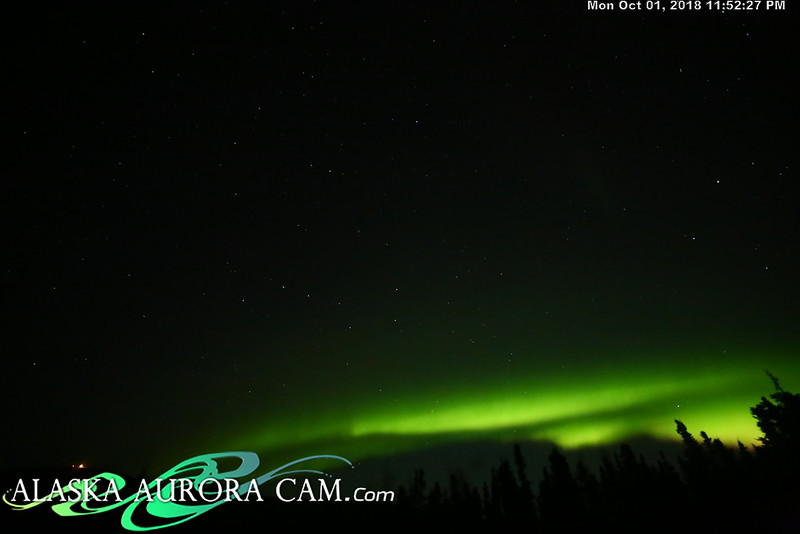 October 1st - Alaska Aurora Cam