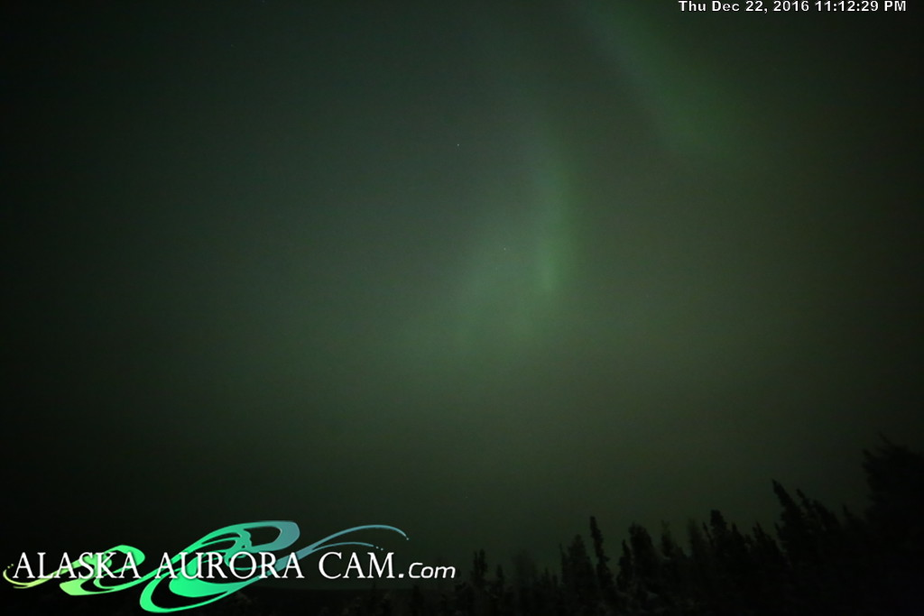 December 22nd  - Alaska Aurora Cam