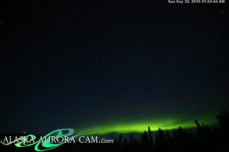 September 29th - Alaska Aurora Cam