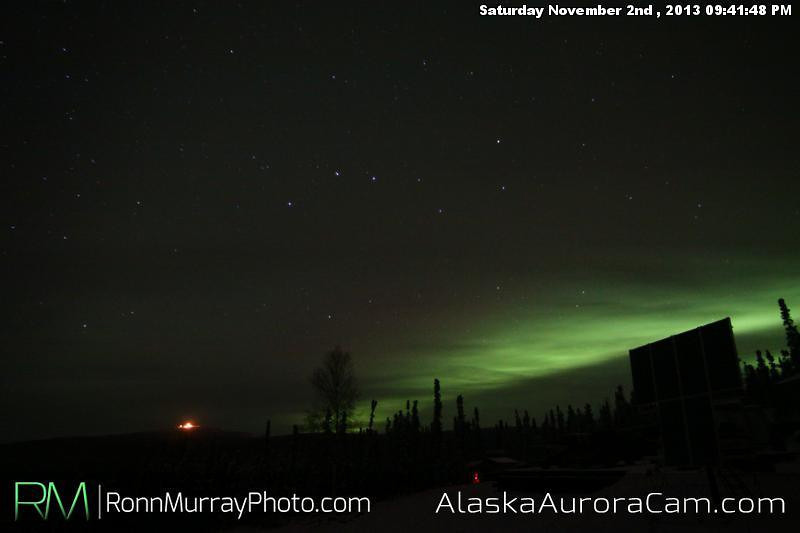 Daylights Savings - Nov 3rd, Alaska Aurora Cam