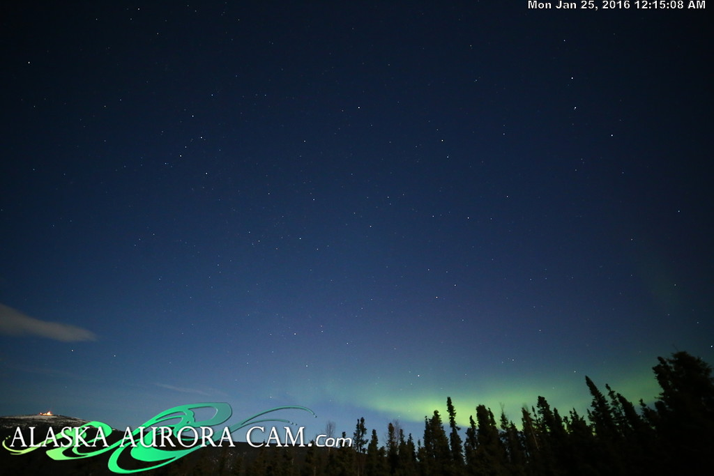 January 24th  - Alaska Aurora Cam