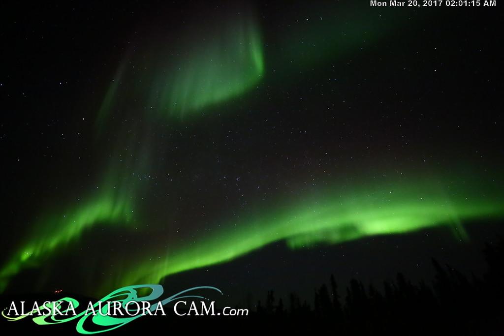 March 19th  - Alaska Aurora Cam