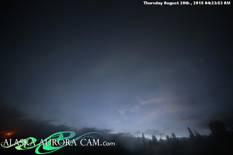 August  19th - Alaska Aurora Cam