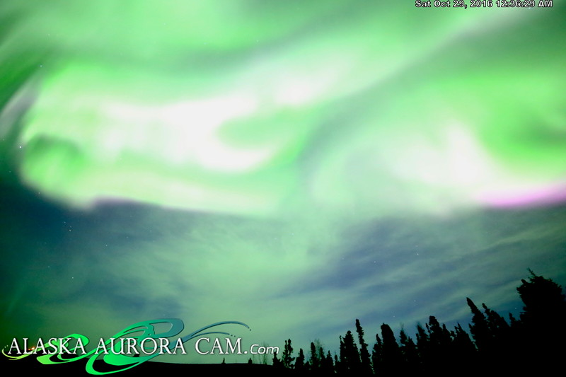 October 28th  - Alaska Aurora Cam