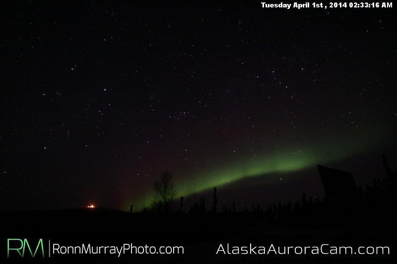 April 1st - Alaska Aurora Cam