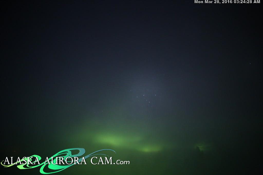 March 27th - Alaska Aurora Cam