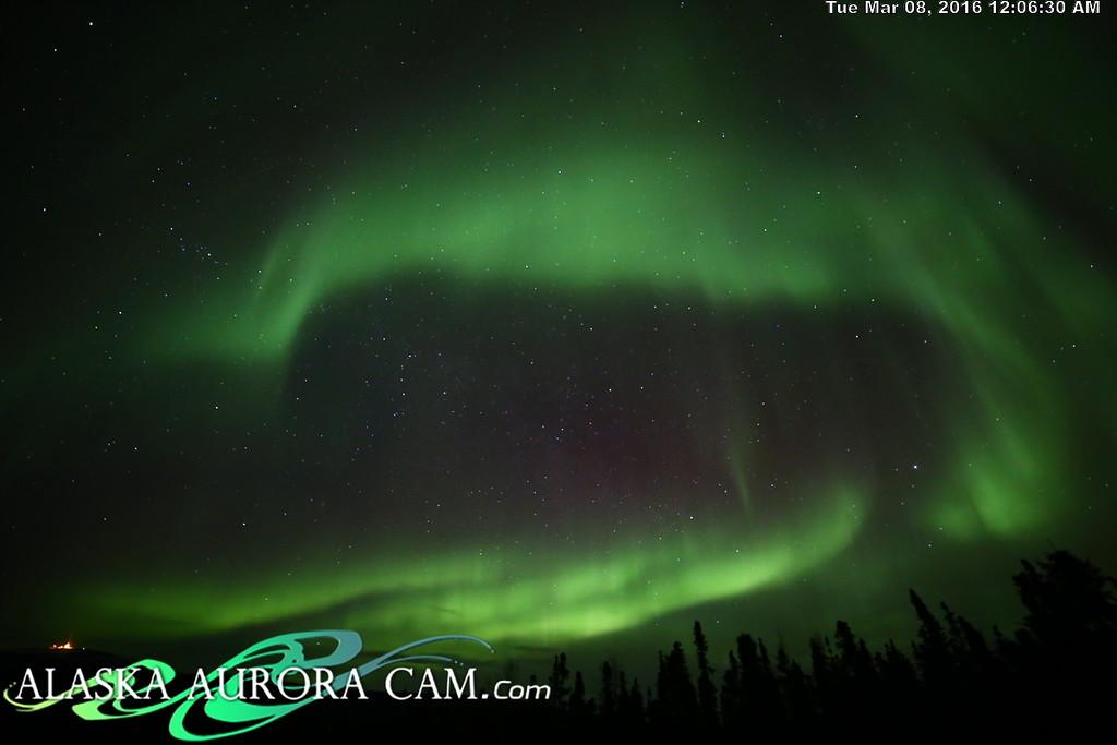March 7th - Alaska Aurora Cam