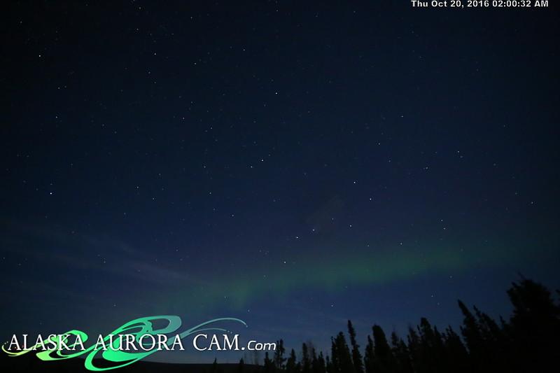 October 19th - Alaska Aurora Cam
