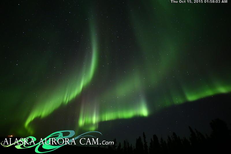 October 14th - Alaska Aurora Cam