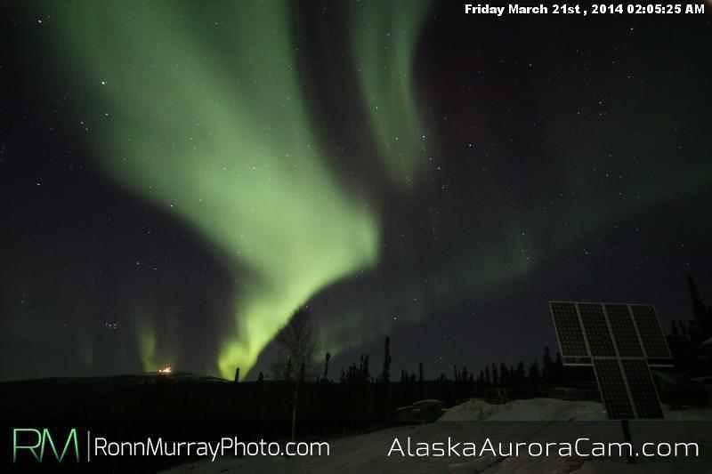 March 21st - Alaska Aurora Cam
