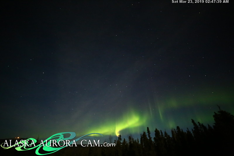 March 22nd- Alaska Aurora Cam