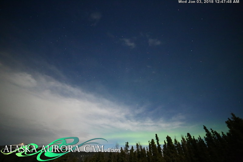 January 2nd - Alaska Aurora Cam