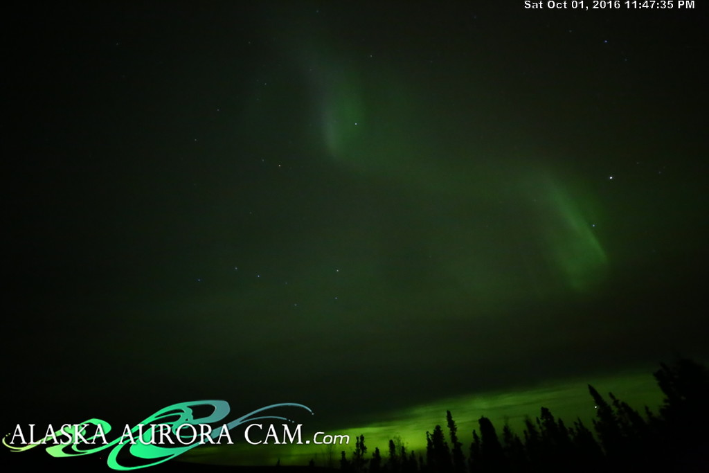 October 1st - Alaska Aurora Cam