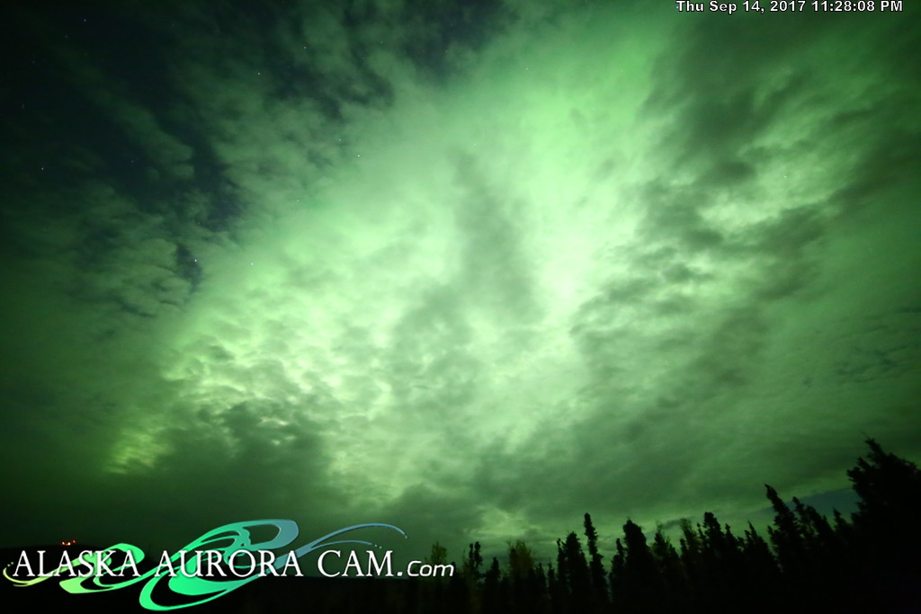 September 14th - Alaska Aurora Cam