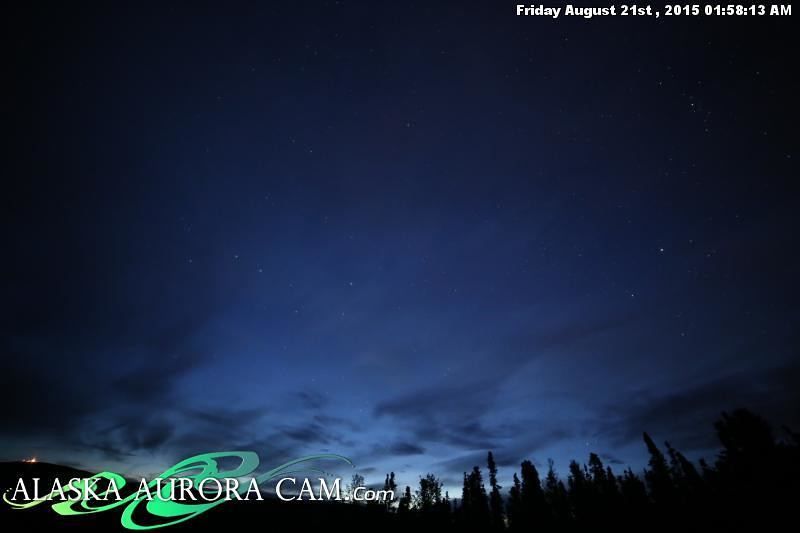 August  20th - Alaska Aurora Cam