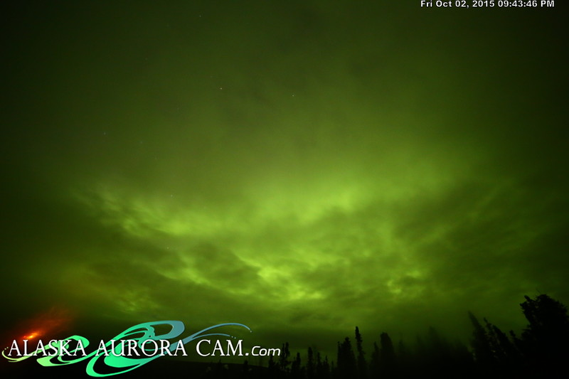October 2nd - Alaska Aurora Cam