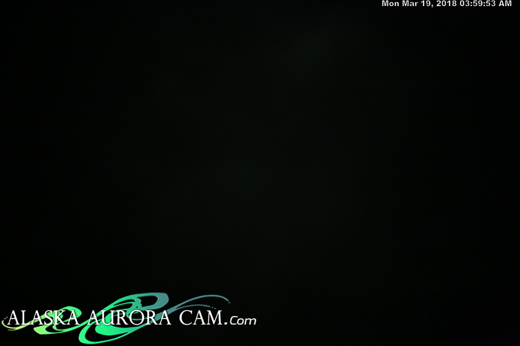 March 18th  - Alaska Aurora Cam