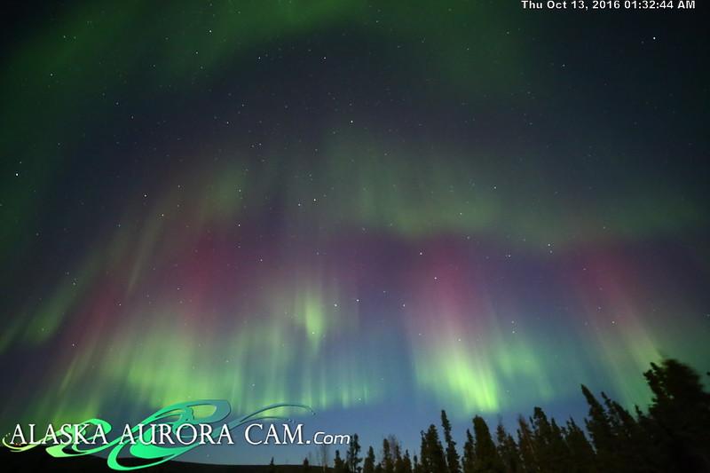 October 12th - Alaska Aurora Cam