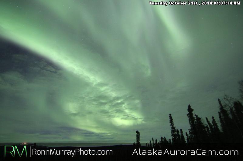 October 20th - Alaska Aurora Cam