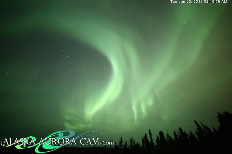 January 2nd  - Alaska Aurora Cam