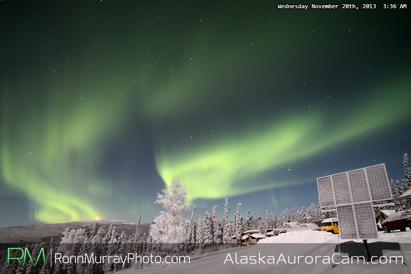 Cold but Beautiful - Nov 20th, Alaska Aurora Cam