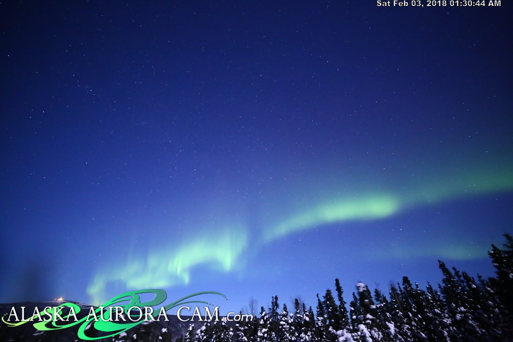 February 2nd - Alaska Aurora Cam