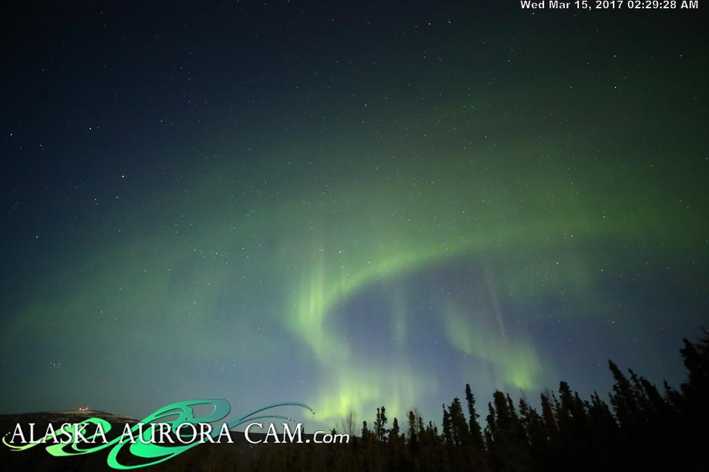 March 14th  - Alaska Aurora Cam