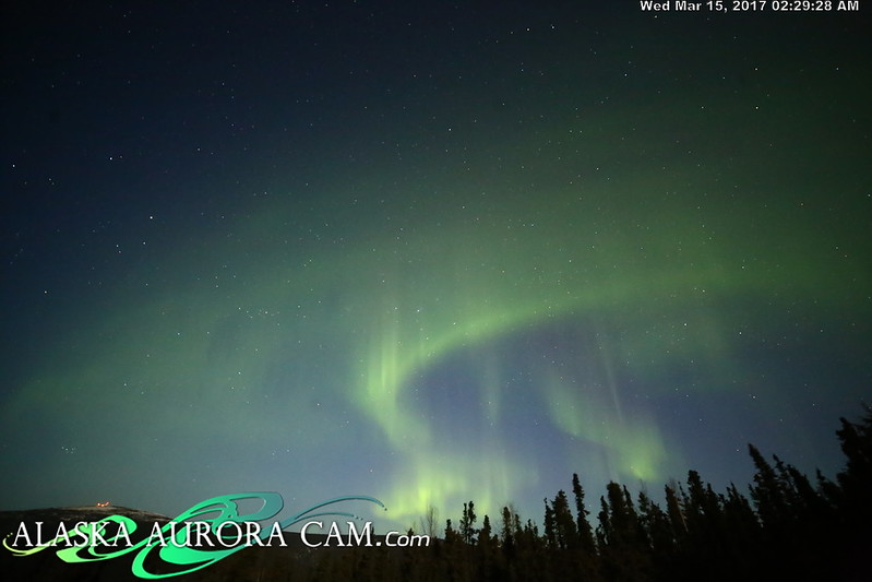 March 14th  - Alaska Aurora Cam