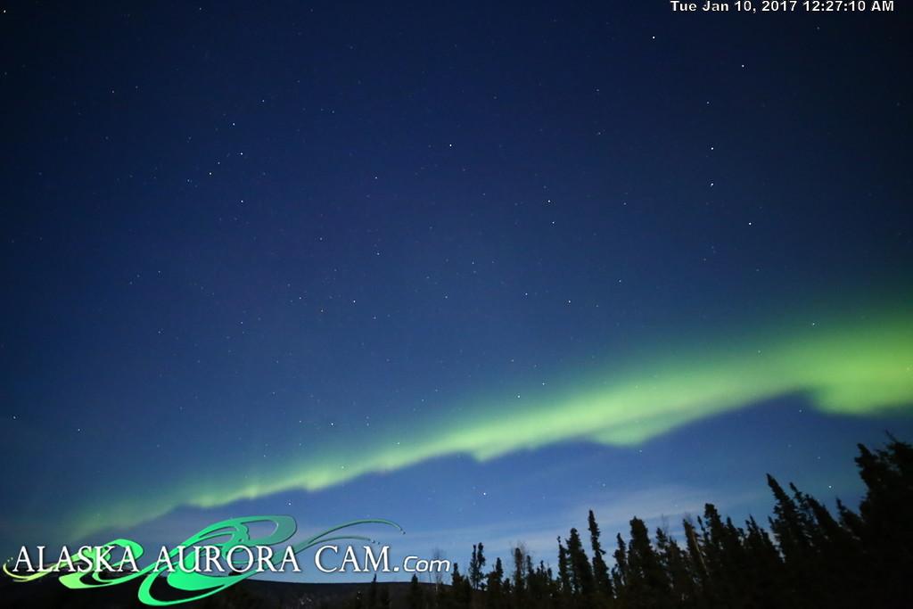 January 9th  - Alaska Aurora Cam