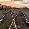 Churchill Manitoba, Rail line