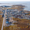 Town of Churchill Manitoba from southeast. For winter photos of the town of Churchill see Churchill Northern winter gallery.