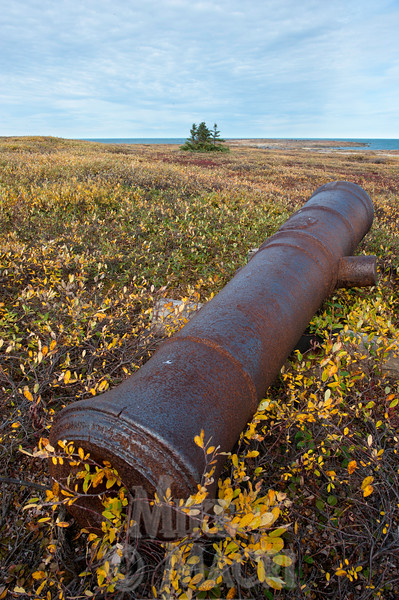 Cannon outside Prince of Wales Fort, Churchill Manitoba.