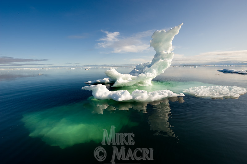 Hudson Bay floe ice, July 30, 2009  #2