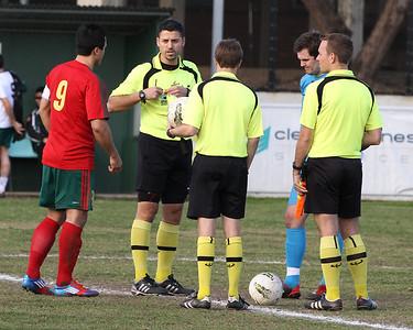 2012 0819 - SL Men 1st Fraser Park (0) v Tigers (4)