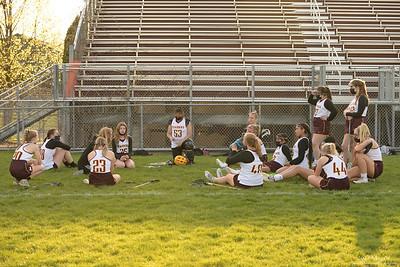 Girls LaCrosse, 2021 May 06, Northfield High School Raiders vs. Owatonna Huskies, JV and Varsity, Raider's stadium, Northfield, Minnesota  USA.