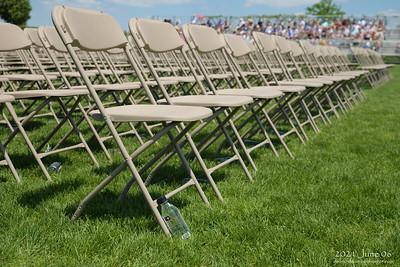 NHS Commencement, 2021 June 06, Northfield High School Memorial Stadium, Northfield, Minnesota USA.