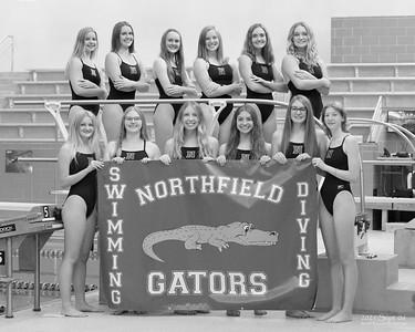 Northfield High School Girls Swim Team, 2021 September 06.