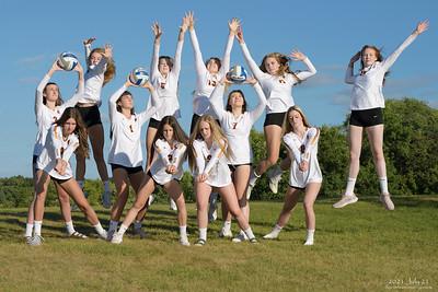 Northfield High School Volleyball Team, 2021-22, 2021 July 21.