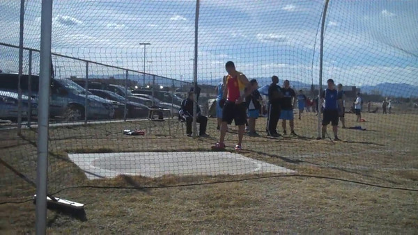 Northglenn Track Meet March 21, 2012 VIDEO