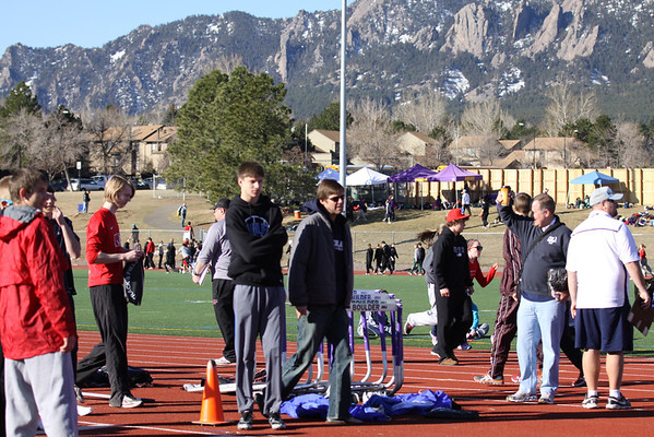Northglenn Track Meet March 10, 2012