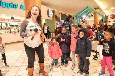 Mall-Stars Noon Year's Eve Ballon Drop @ Northlake Mall 12-29-17 by Jon Strayhorn