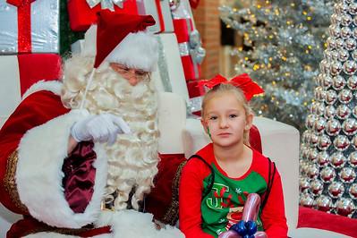 Signing Santa @ Northlake Mall 12-4-18 by Jon Strayhorn
