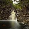 Rosebush Falls on the Fall River just south of Grand Marais.
