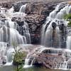 Upper falls of the Gooseberry River, Gooseberry State Park,