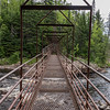 Swinging Bridge on the Baptism River