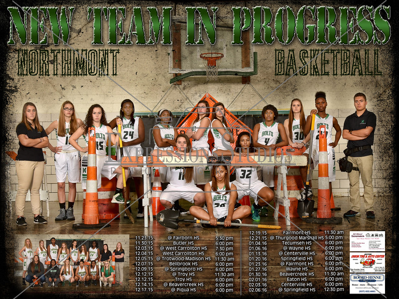 Nortmont Girls Basketball Poster 2015 copy