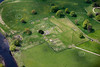 Chesters Fort  on Hadrians Wall from the air.