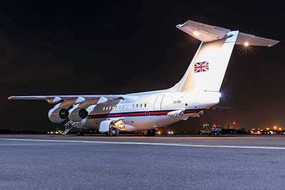 Royal Air Force British Aerospace 146-100 ZE700 3-14-19