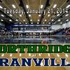 Varsity - Northridge High School Vikings at Granville High School Blue Aces - Tuesday, January 21, 2014